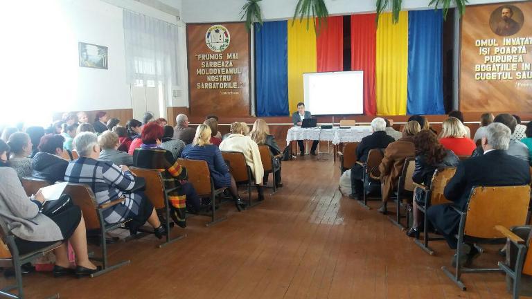 Asociaţia Sindicală raională Donduşeni, instruieşte liderii de sindicat