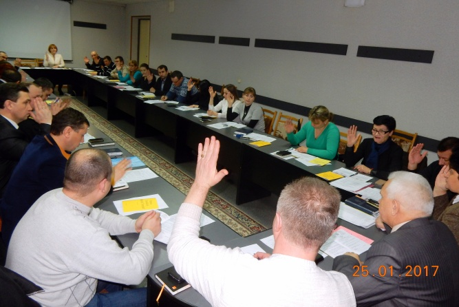 """Şedinţa Consiliului Sindicatului """"DEMNITATE"""""""