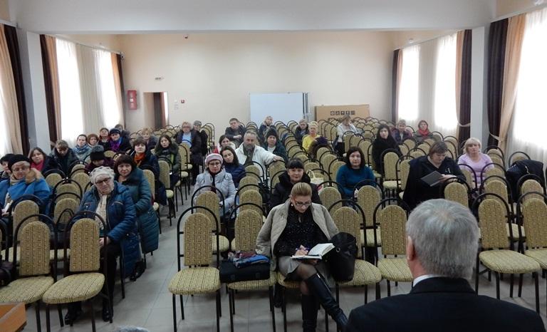 """Встреча руководства профсоюза  """"VIITORUL""""  с профсоюзными лидерами территориальной Ассоциации Профсоюза муниципия Бэлць."""