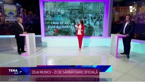 Emisiunea consacrată Zilei Solidarităţii -1 MAI