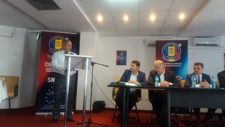 Participarea la Consiliul general a SNPPC al MAI România