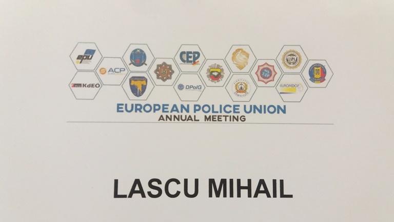 Problemele poliţiştilor europeni, analizate în cadrul Reuniunii anuală a EPU, de la Sibiu.