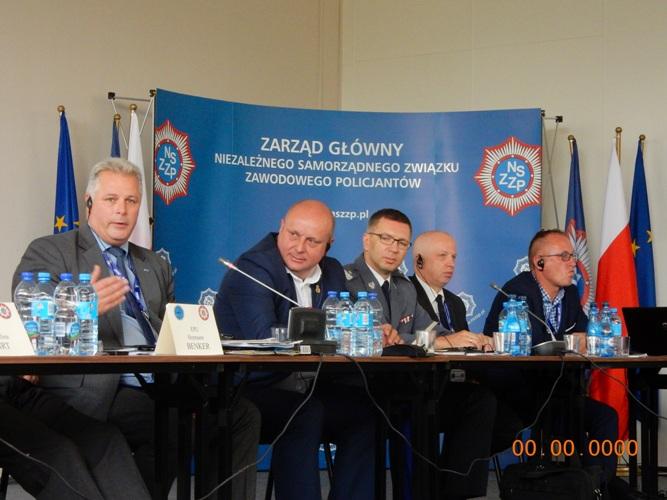 Drepturile poliţiştilor pe ordinea de zi a Conferinţei EPU la Varşovia!