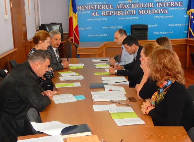 Desfăşurarea Comisiei de negocieri