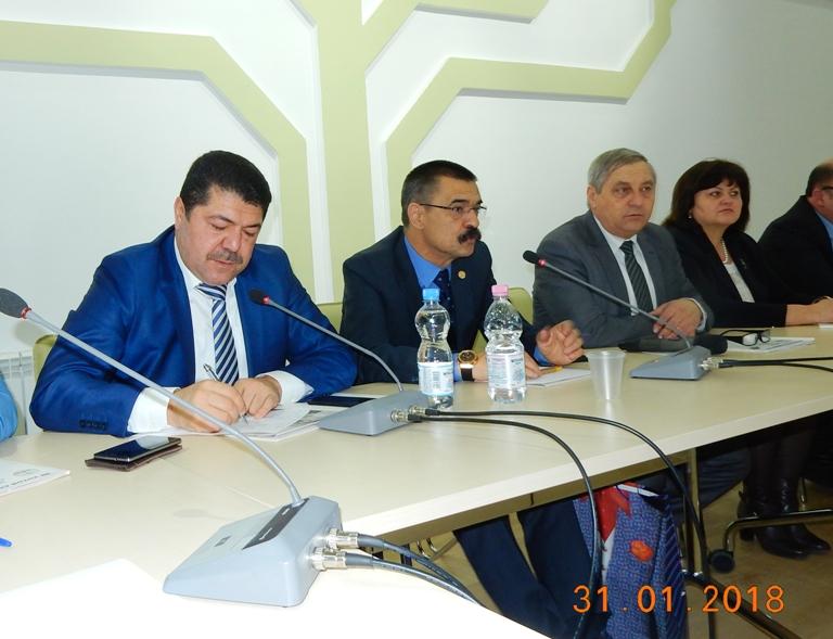 Турецкая делегация из Международной Евроазиатской Федерации Профсоюзов Металлистов в гостях у профсоюзов Молдовы