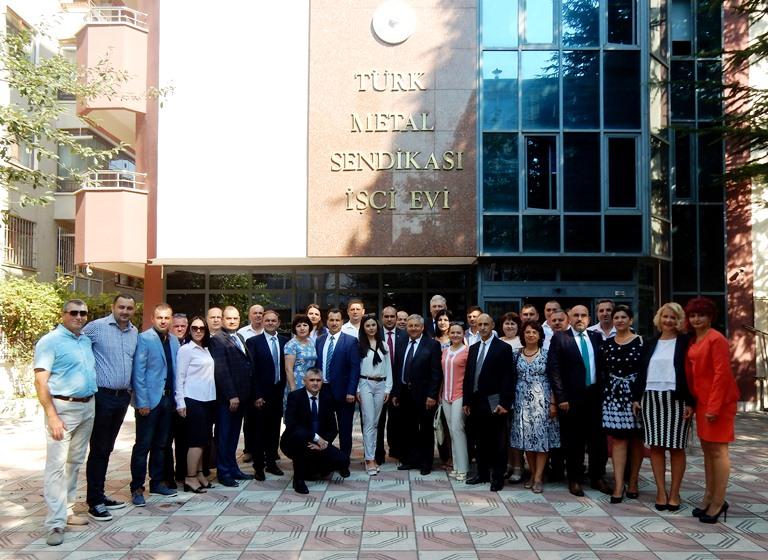 Добрая традиция в сфере обучения профсоюзных лидеров по международной программе в г.Анкара.