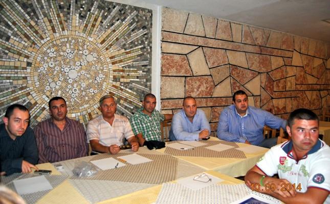 Обмен опытом с коллегами из профсоюзов Болгарии