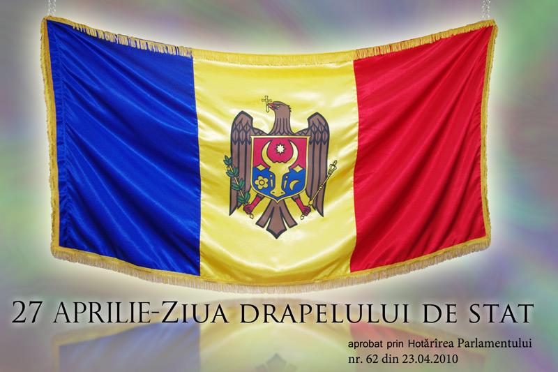 27 aprilie- ZIUA DRAPELULUI DE STAT
