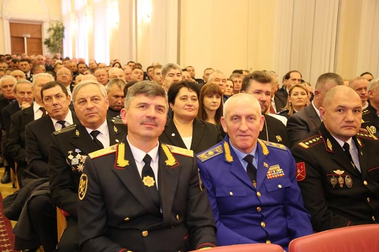 Evenimentul festiv dedicat celei de-a 29-a Aniversări a Poliției Naționale!