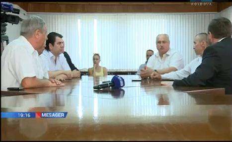 Встреча министра внутренних дел Олега БАЛАНА с представителями профсоюзов и ветеранов конфликта на Днестре