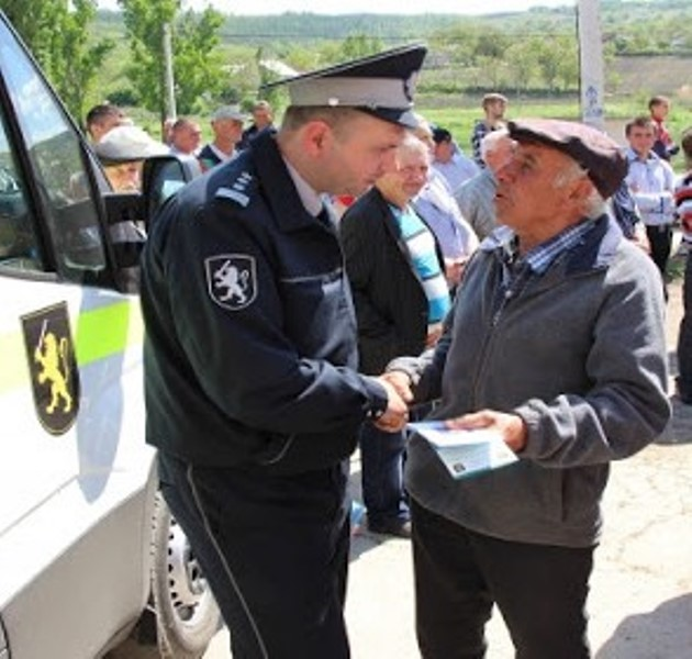 Polițistul de sector - reduta I al Poliției