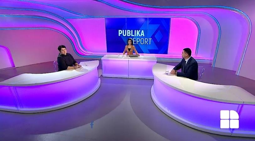 "Angela Otean, secretarul general Federaţiei ""SINDLEX"" au participat la emisiunea Publika-Report la data de 23 februarie a.c."