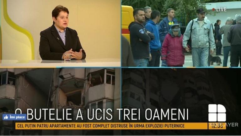 Angela OTEAN a participat la programa televizată PUBLIKA -REPORT