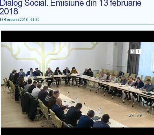 """""""Dialogul Social"""" 13.02.2018"""
