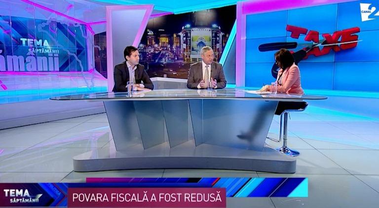 """""""Tema săptămânii"""" - Reforma fiscală"""