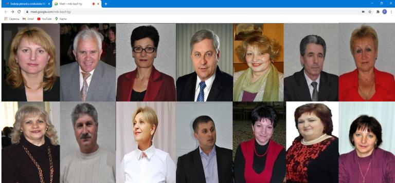 """Activitatea Prezidiului Consiliului Sindicatului """"Viitorul""""  în anul 2020"""
